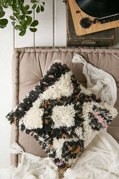 4040 Locust Polona High Pile Pillow - Urban Outfitters
