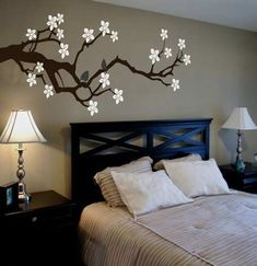 Last Trending Get all images bedroom wall painting ideas pictures Viral il xn Bedroom Murals, Bedroom Wall, Bedroom Decor, Wall Decor, Wall Art, Graffiti Bedroom, Master Bedroom, Wall Beds, Bedroom Ceiling