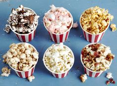What a fun way to make movie night more exciting!  10 Flavored Popcorn Recipes – P&G everyday | Food | P&G Everyday