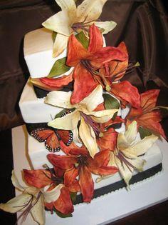 Fall Lillies--Grand Elegance Cakes of TOLEDO   Toledo, Ohio