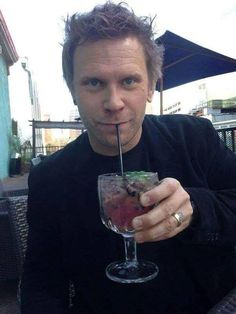 Luci always liked a nice cocktail at the end of the day. Mark Pellegrino