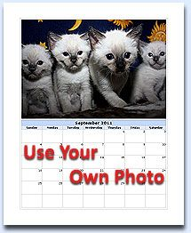 Make Free Photo Calendar 2017 Or Create Calendars Using Your Own Photos