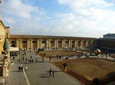 Vatican - Cortile del Belvedere, Upper Court - Donato Bramante (modified)