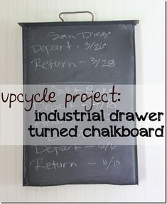 Upcycle an Industrial Drawer
