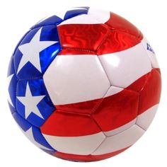 Take a look at this Red & Blue Patriotic Soccer Ball by Baden on today! Play Soccer, Soccer Ball, Professional Soccer, Football Gear, Soccer Stars, Sports Toys, Fifa World Cup, Soccer Players, Red And Blue