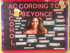 Resident Assistant – Keep Calm and Be Yonce. Premade bulletin board with PowerPoint download of all text.