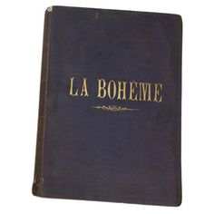 This very rare First Edition Score of Puccini's opera La Boheme, circa is one of the opera collectibles on hand at the Met Opera Shop. Merry Widow, Music Heart, Opera Singers, Scores, Mamma Mia, Harp, Sicily, Trips, Nyc