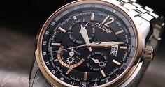 CITIZEN  World Time Automatic / Ref.NB2014-57E