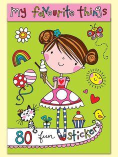 Rachel Ellen - my favourite things stickers
