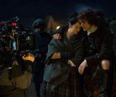 James Fraser Outlander, Outlander Novel, Outlander Season 3, Outlander Tv Series, Outlander Costumes, Claire Fraser, Jamie Fraser, Wedding Scene, Samheughan
