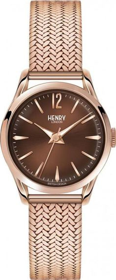 84f7d8c354e6 Henry harrow watch #Watches #rosegold #TheJewelHut #Women #fashion # obsessory #