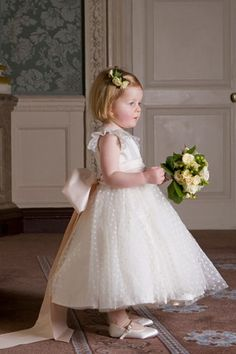 Flower Girl Dresses &amp- Page Boy Outfits (BridesMagazine.co.uk ...