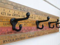 Cool idea for back door/key holder.