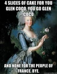 learned about Marie Antoinette in world history today so this is relevant