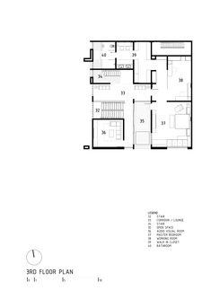 Imagem 23 de 28 da galeria de Casa S+I / DP+HS Architects. Planta 3