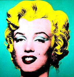 Marilyn Monroe by Andy Warhol   Gif Animado