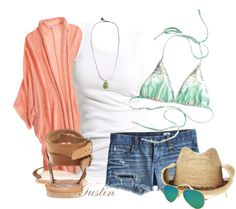 """beach bound"" by stacy-gustin on Polyvore"
