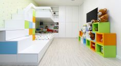 modern kids room design | findideashome.com