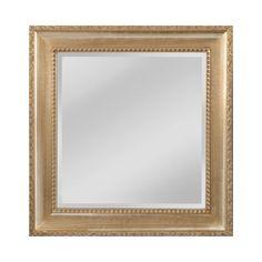 Mirror Masters MW4508B-0027 Beacon Street Collection Light Walnut,Silver Mist Finish Wall Mirror