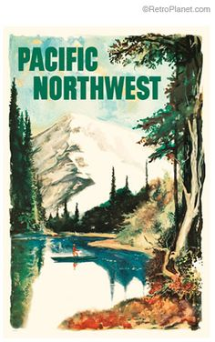image of Pacific Northwest Poster