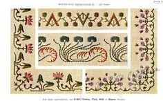 Gallery.ru / Фото #15 - Vintage DMC - Motifs for Embroideries No 3 - Dora2012
