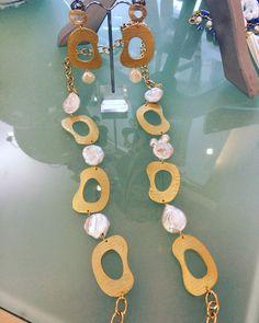 Zama gold&pearls #bijoux #necklace