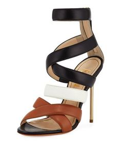 fd16649ff388 Shop Floyd Dressy Colorblock Sandal from Jerome C. Rousseau at Neiman  Marcus Last Call