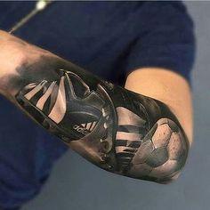 Algunos Diseños De Los Mejores Tatuajes De Futbol Tatuajes En El