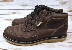 Red Wing Mens Size 9D Brown Leather Chukka Ankle Boots Style# 4304 Used  | eBay