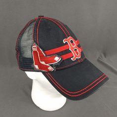 521da555a80 Boston Red Socks Hat New Era 39thirty Extra Large Mesh Back Black Patch   NewEra  BostonRedSox