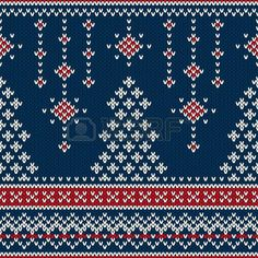 Knitting Patterns Christmas Winter Holiday Seamless Knitting Pattern with a Christmas Tree – stock vector Fair Isle Knitting Patterns, Knitting Charts, Knitting Stitches, Knitting Designs, Knitting Yarn, Knitting Projects, Knitting Sweaters, Knitting Ideas, Knitted Christmas Stockings