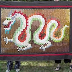 Dragon Hexie Quilt
