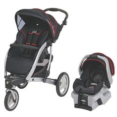 Graco Trekko 3-wheel Stroller Travel System in Metropolis by Graco ...