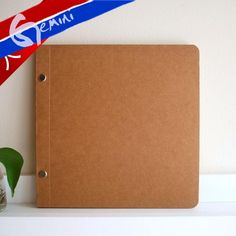Blank  cowhide paper sketch book doodle book notebook clipbook notepad free delivery € 10,99
