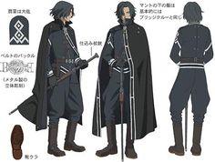 Last Exile Alex Row Uniform Fantasy Character Design, Character Design Inspiration, Character Concept, Character Art, Arte Assassins Creed, Last Exile, Modelos Fashion, Character Design References, Character Outfits