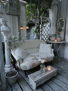 Evening delight on my porch. @Decoraya