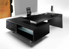 Choose from an array of materials and styles to suit your office. Your desk will be unique to you and will bring identity and character into your workspace. http://laporta.co.uk/products/desks_modi.html