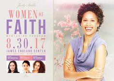 Women of Faith Flyer Template