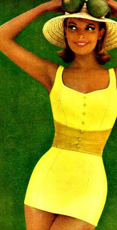 Yellow Swimsuit ♥ 1961