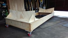 Tango Skiff Boat Cradle and Stands