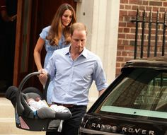 George Alexander Louis With Will and Kate going Home http://www.willandkatesbabyboy.co.uk/will-kate-royal-wedding/his-royal-highness-prince-george-of-cambridge.html