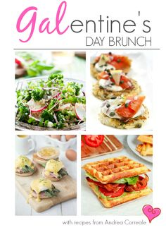 Galentine's Day Brunch Recipes and Tips Brunch Recipes, Summer Recipes, Breakfast Recipes, Valentines Breakfast, Food Hacks, Love Food, Yummy Food, Tasty, Cooking Recipes