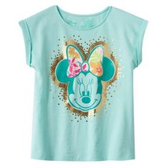 Disney's Minnie Mouse Roll-Cuff Tee by Jumping Beans® - Girls 4-7