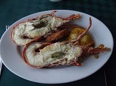 Cuba- for the rich, there would be at least a meal of lobster a couple of times a week