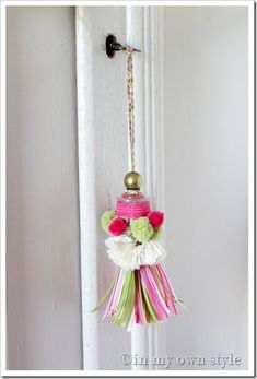 Decorating with Tassels