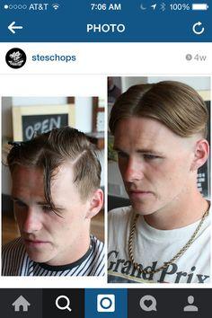 Middle part undercut Medium Hair Styles, Long Hair Styles, Shaved Sides, Men Hairstyles, Men's Hair, Undercut, Top Knot, Shaggy, Curly