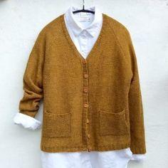 Ribbed Cardigan, Knit Cardigan, Pdf Sewing Patterns, Knitting Patterns, Facon, Free Knitting, Mantel, Tweed, Knitwear