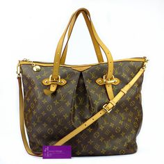 LV Palermo GM Monogram Canvas With Leather Good Condition  Ref.code-(GOCC-1) More Information Pls Email  (- luxuryvintagekl@ gmail.com )