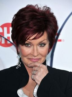 Remarkable, rather sharon osbourne hairstyles short hair mom xxx picture