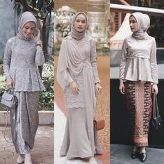 30 New Ideas For Dress Hijab Wedding Abayas Source by aenradzi dress hijab Kebaya Modern Hijab, Kebaya Hijab, Kebaya Dress, Model Kebaya Modern Muslim, Model Kebaya Brokat Modern, Dress Muslim Modern, Dress Brokat Modern, Dress Brokat Muslim, Kebaya Muslim